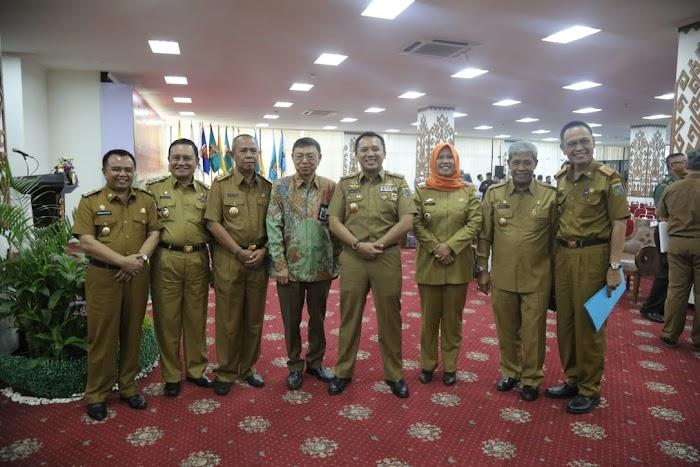 Gubernur Ridho Serahkan DIPA Tahun 2019 Senilai Rp9,972 Triliun kepada Kepala Daerah dan Instansi Vertikal Se-Provinsi Lampung