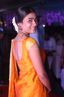 Shalini Pandey in Beautiful Orange Saree Sleeveless Blouse Choli ~  Exclusive Celebrities Galleries 014.JPG