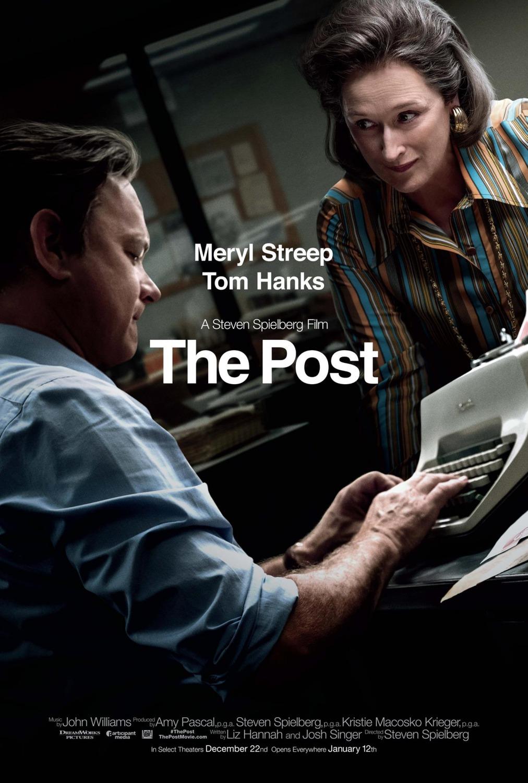 czwarta władza plakat recenzja filmu tom hanks steven spielberg meryl streep