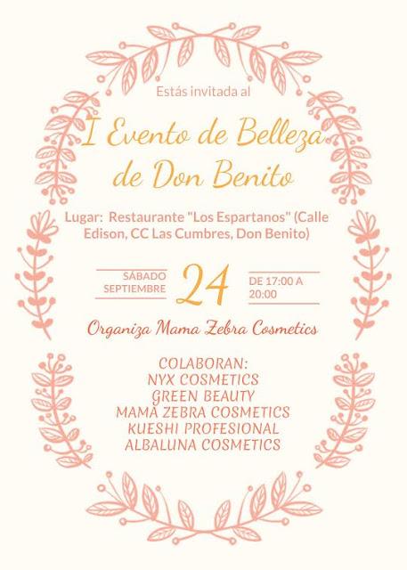 I evento de belleza Don Benito (Badajoz)