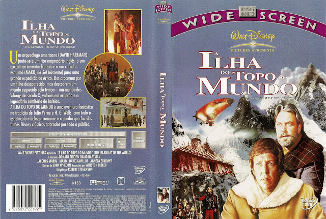 Capa DVD A Ilha do Topo do Mundo