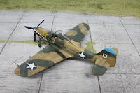 """Eduard P-400 Airacobra """"PAT"""" 1/48."""