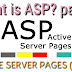 What is ASP ( Active server pages )