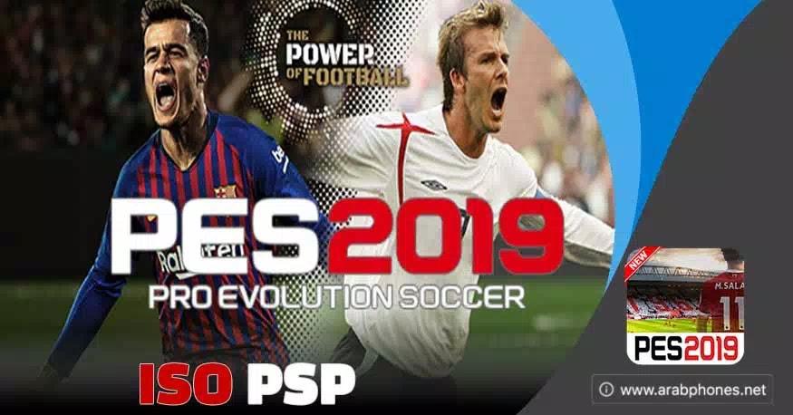 تحميل لعبة pes 2019 PSP للاندرويد على محاكي ppsspp