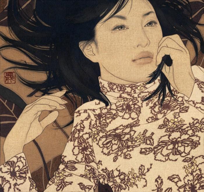 Древняя японская традиция. Ikenaga Yasunari 13