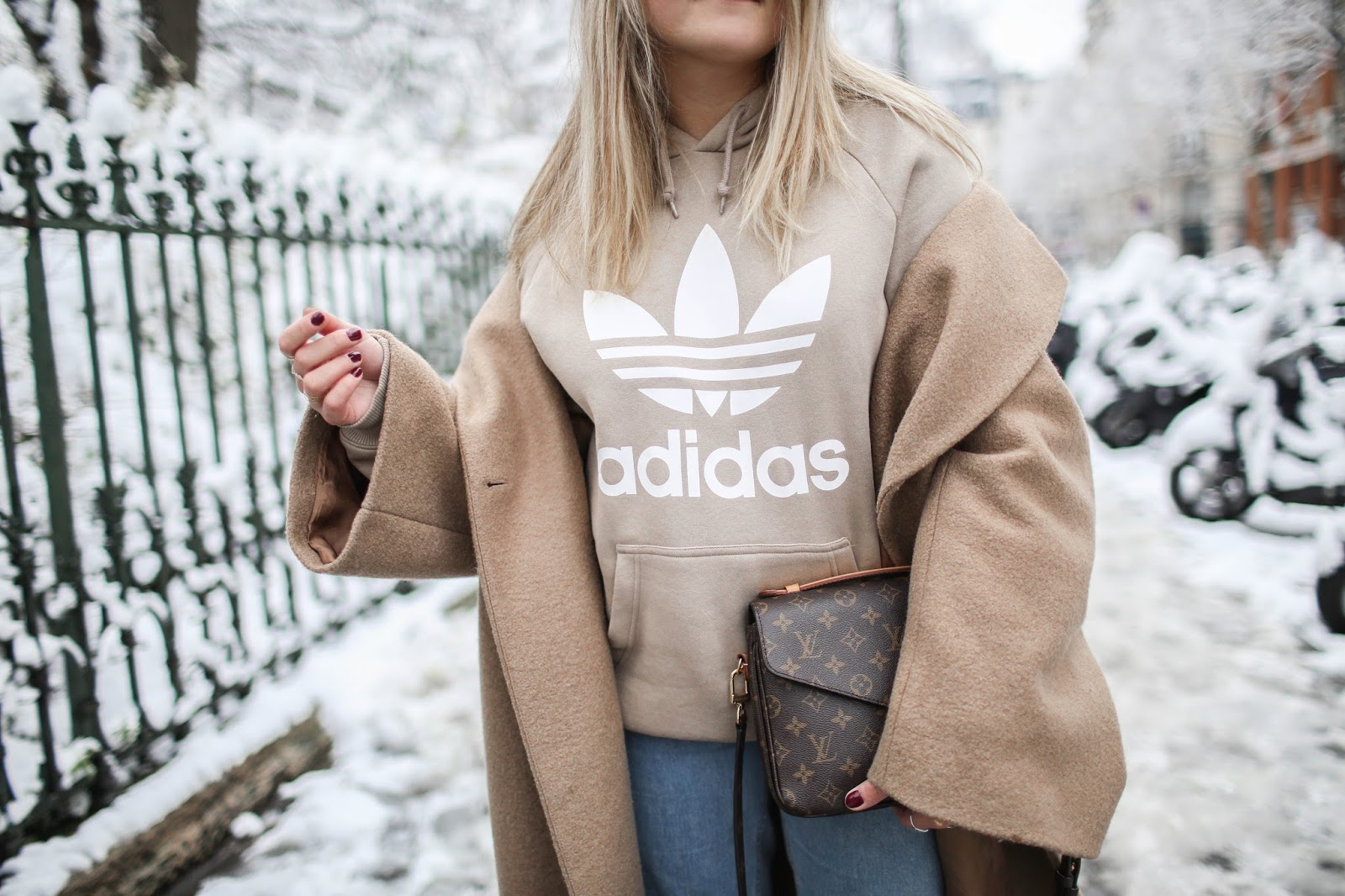 sweat beige adidas parisgrenoble