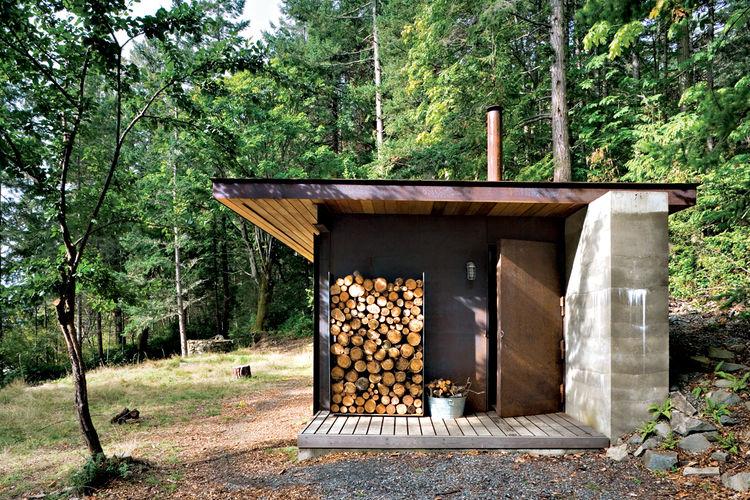 Casas modulares y prefabricadas de dise o mini casa de for Chimeneas prefabricadas