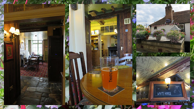 Day Trip to Dover: The White Horse Pub