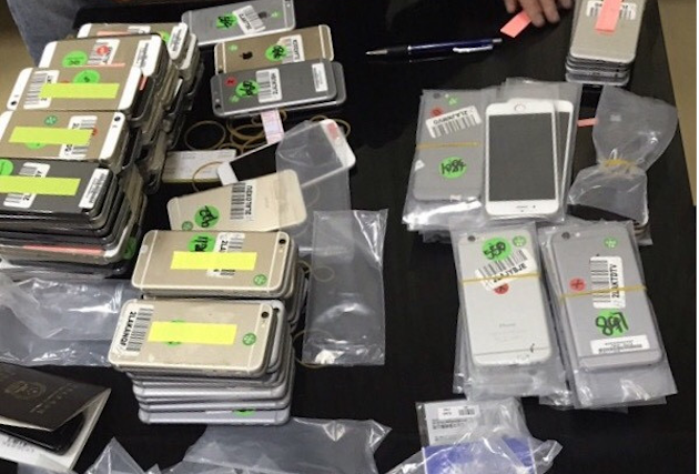 Hơn 200 chiếc iPhone, Samsung nhập lậu bị bắt giữ