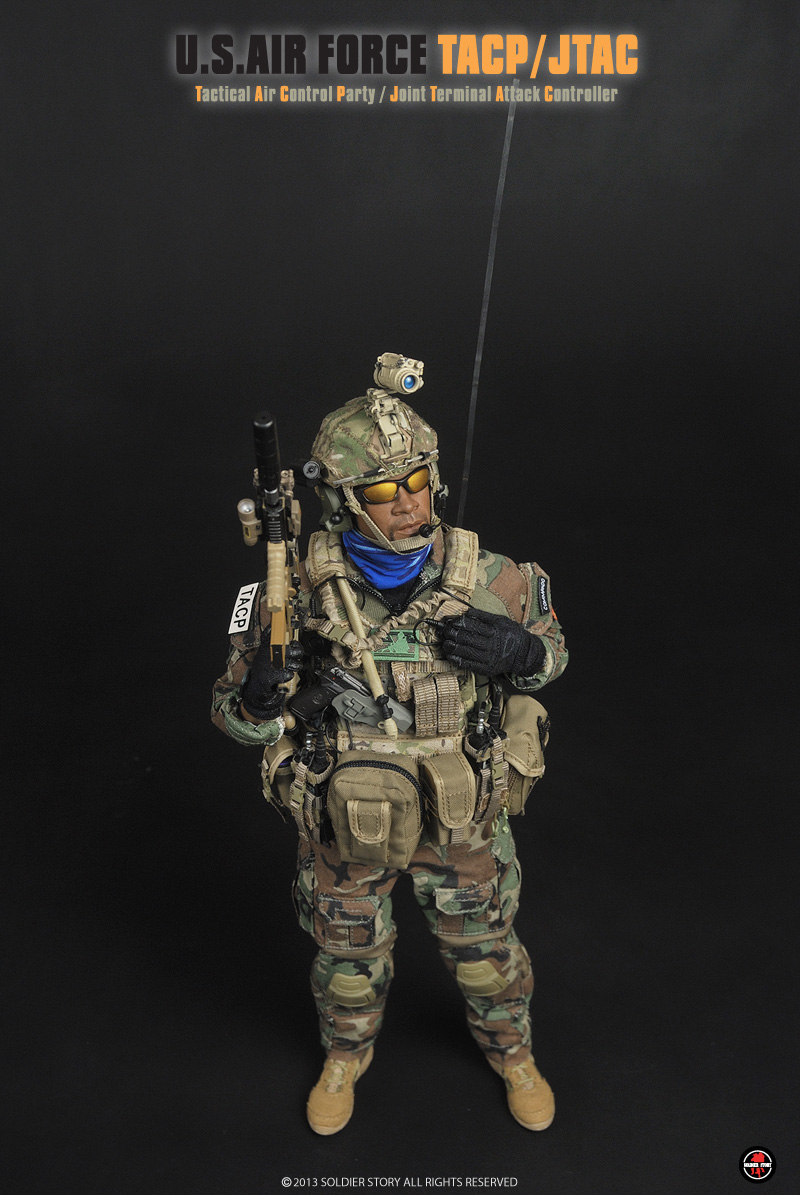 1//6 Soldier Story JTAC TACP *TOY* XPS Style Holosight Magnifier Set *TOY