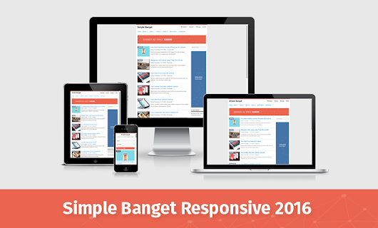 Simple Banget Responsive Blogger Template