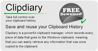 free-clipdiary-clipboard manager