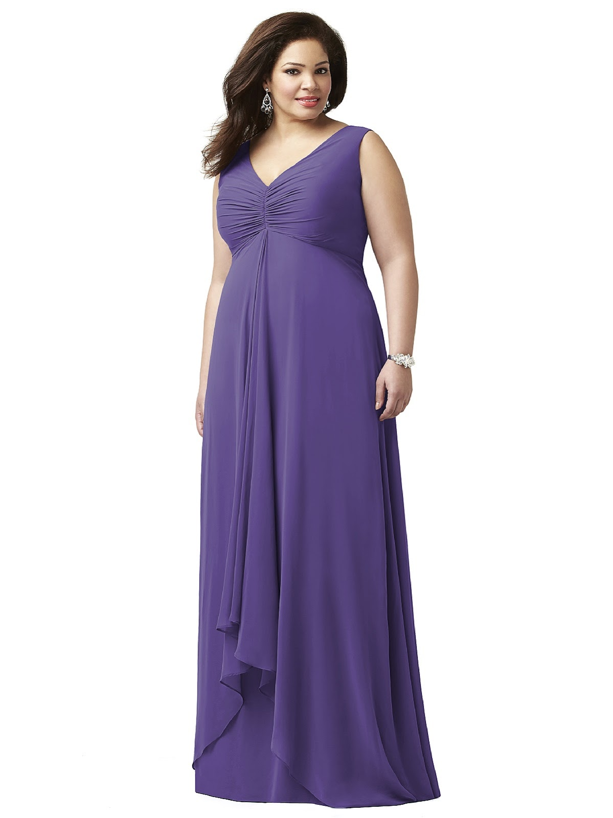 Why You Should Consider Purple Plus Size Bridesmaid ...