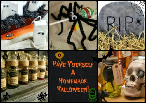 Have Yourself  Homemade Halloween