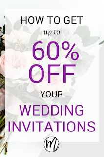 how to get up to 60 percent off your wedding invitations