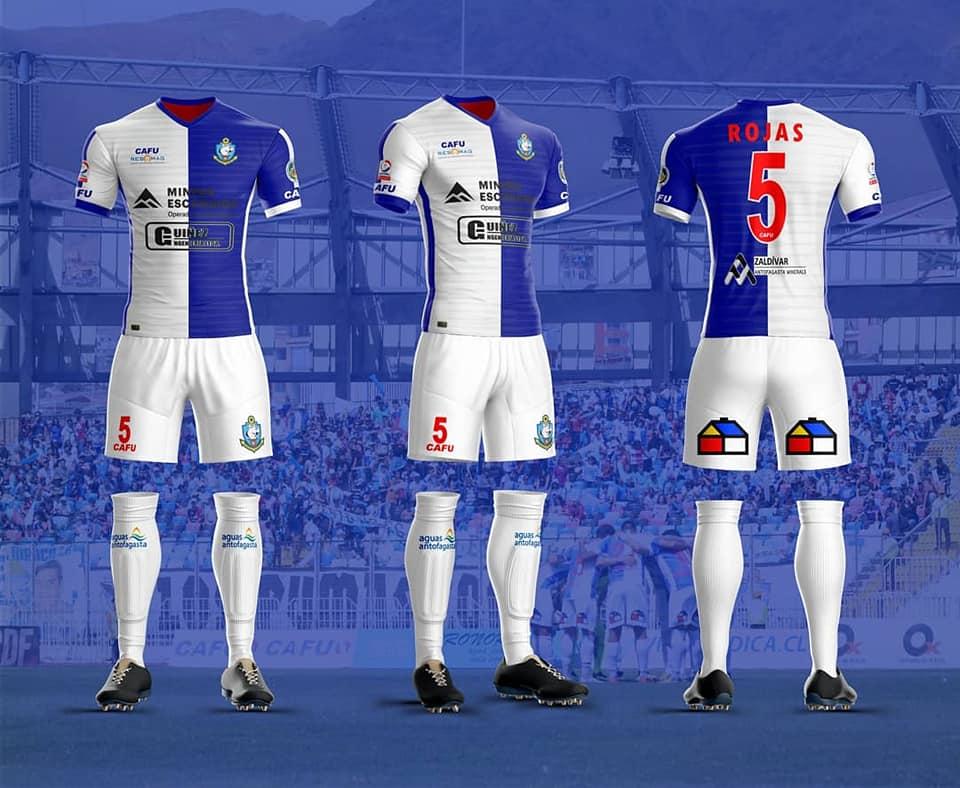 CAFU divulga as novas camisas do Antofagasta - Show de Camisas acf8473a43557