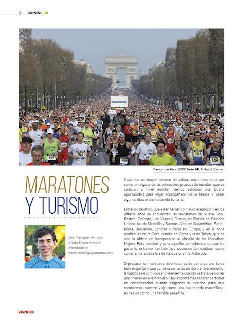 Turismo y Maratón