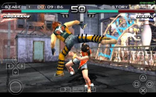 Tekken 5 fighting game for android