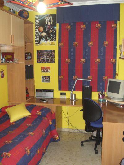 Dormitorios futbol club barcelona fcb by - Cortinas infantiles barcelona ...