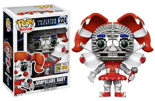 Pop! Games: Sister Location – Jumpscare Baby.