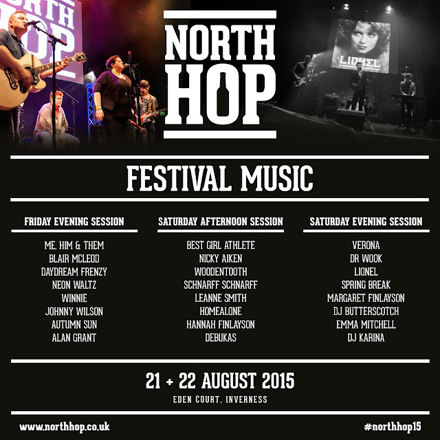 End Summer 2015 in Style at North Hop Festival Inverness