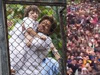 Astaga! Bukannya Mudik, Ribuan Orang Malah Serbu Rumah Shah Rukh Khan Saat Lebaran Hanya untuk Lakukan Ini!