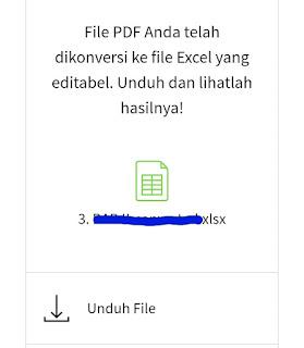 Penyimpanan file konversi pdf