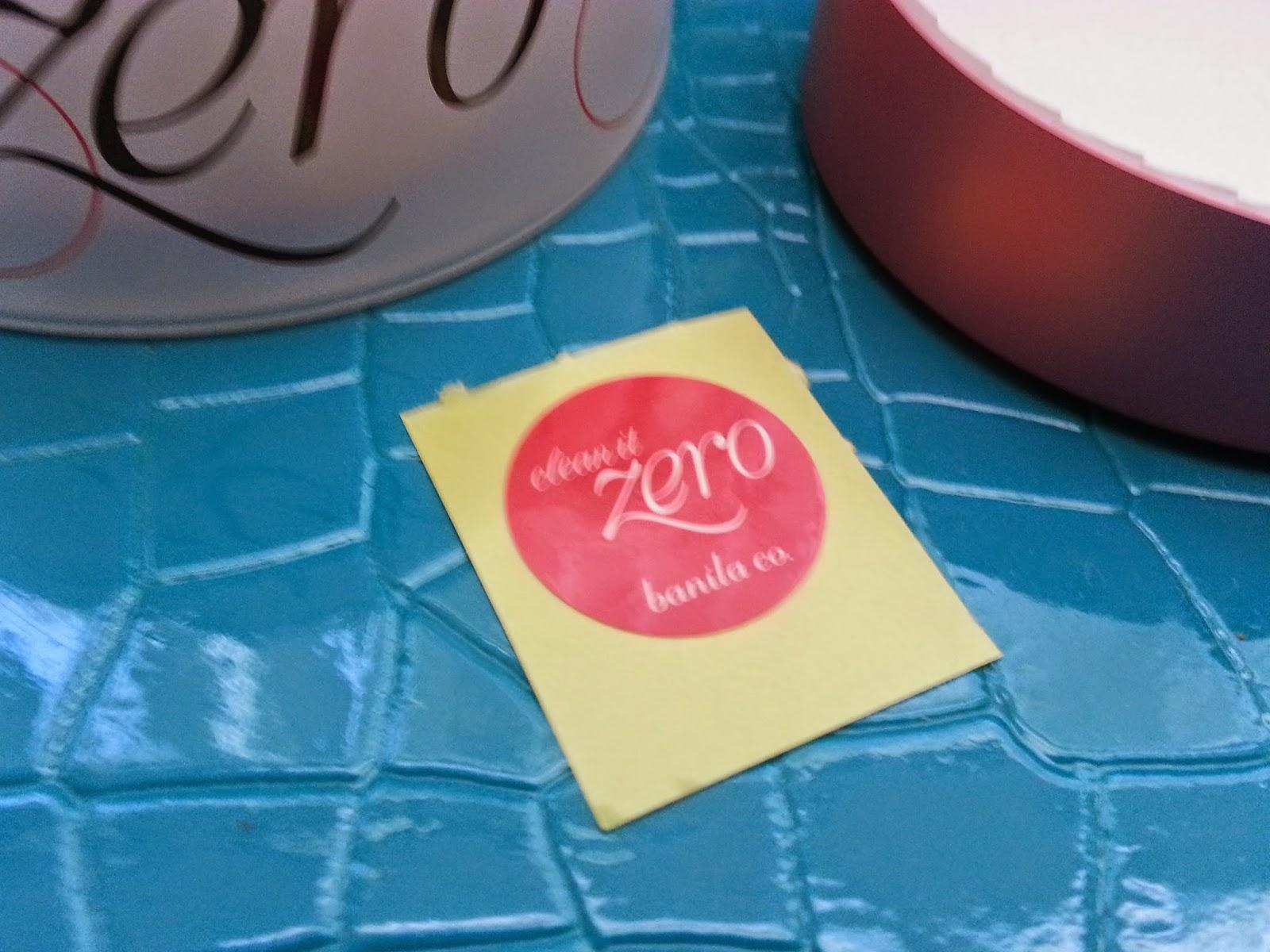 Clean It Zero sticker