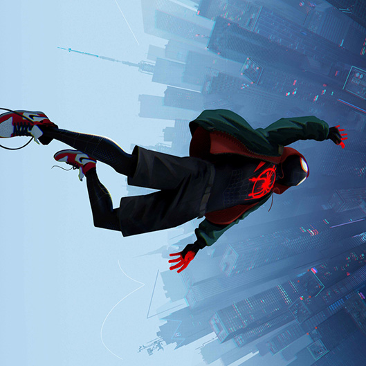 Spiderman: Into The Spiderverse - Upside Down 2 Wallpaper Engine