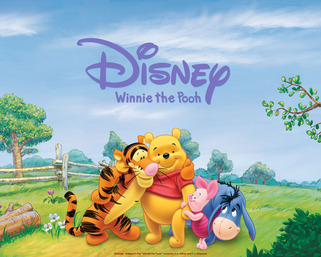Wallpaper Winnie The Pooh: Wallpapers: Winnie The Pooh Animated Movie