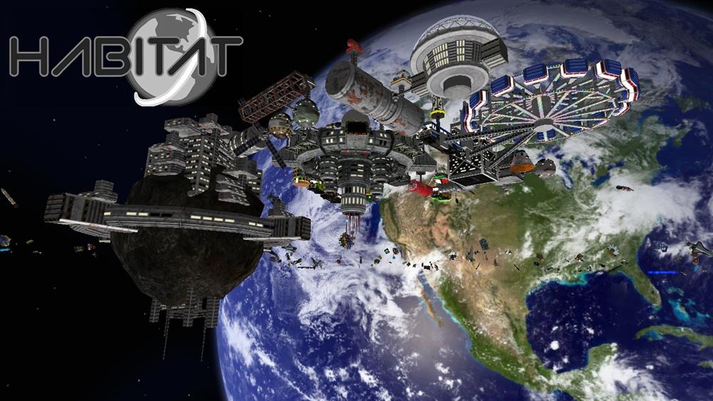 Habitat Game Download Poster