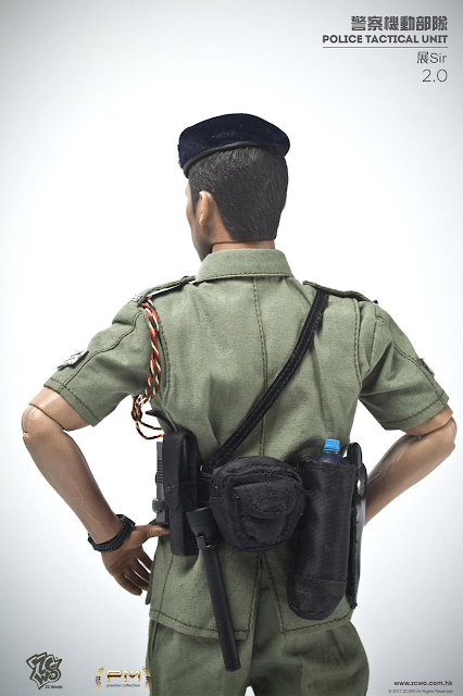 osw.zone ZCWO Premier Collection 1/6. Police Tactical Unit Sir Zhan 2.0 12-inch action figure