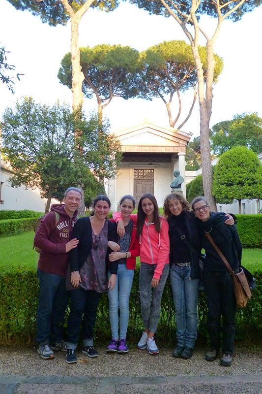 Jardim do Museu Etrusco
