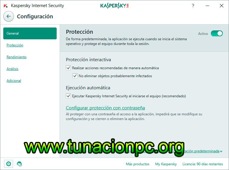 Kaspersky Internet Security con Licencia