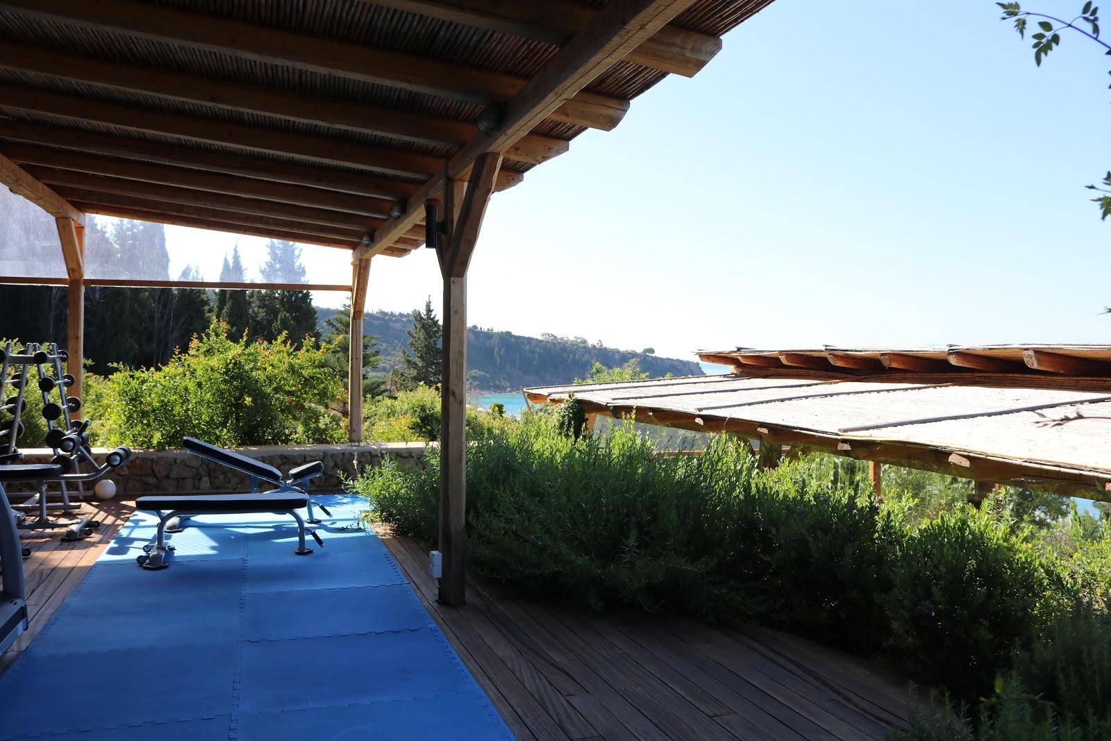 Outdoor Gym, F Zeen Resort, Unique Villas, Kefalonia