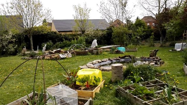 Visite du jardin bio en permaculture au 25 avril 2019 (vidéo)