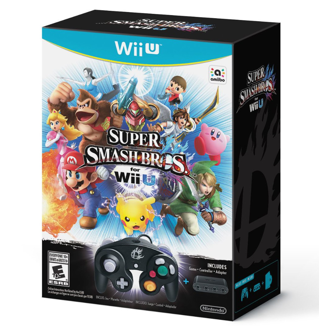 Super Smash Bros Controller Bundle Wii U