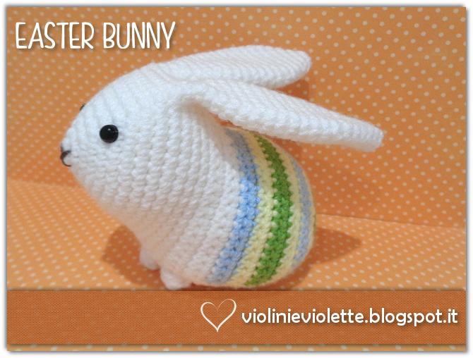 coniglietto schema gratis tutorial uncinetto crochet animali | 508x670
