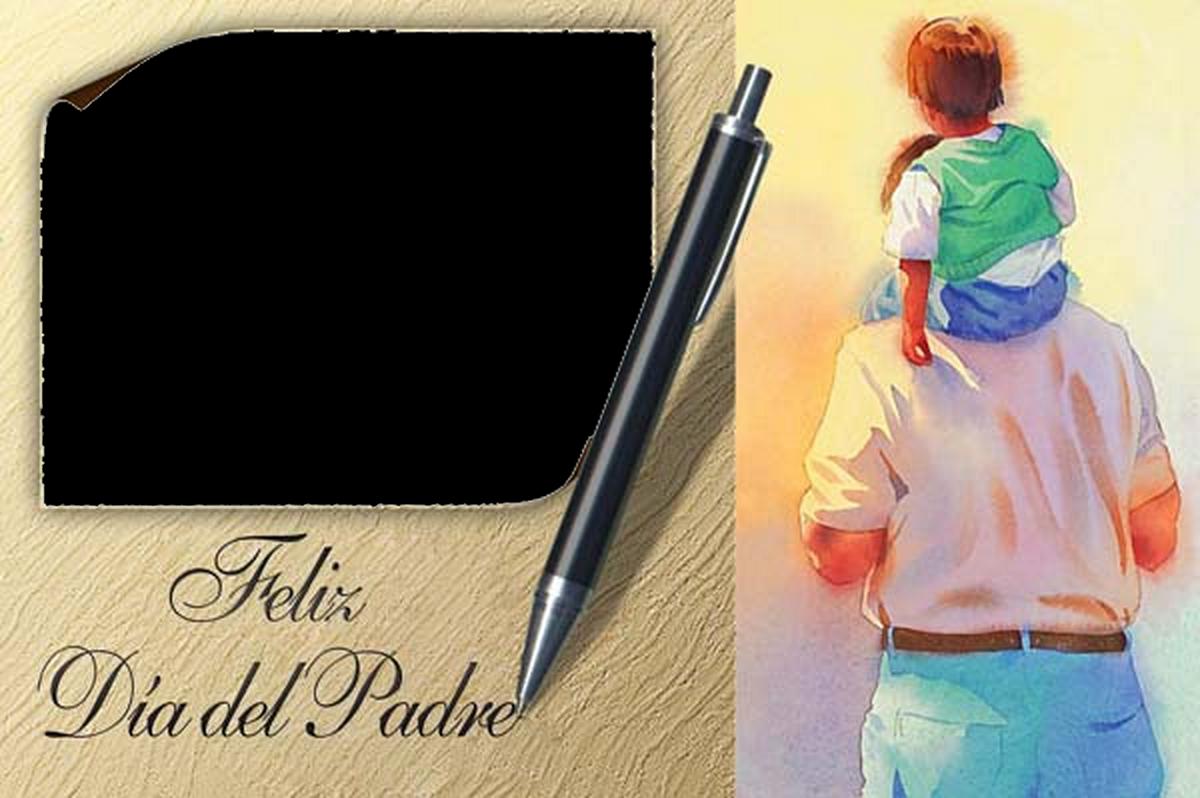 Marcos de Fotos Día del Padre. ~ Marcos Gratis para Fotografías.