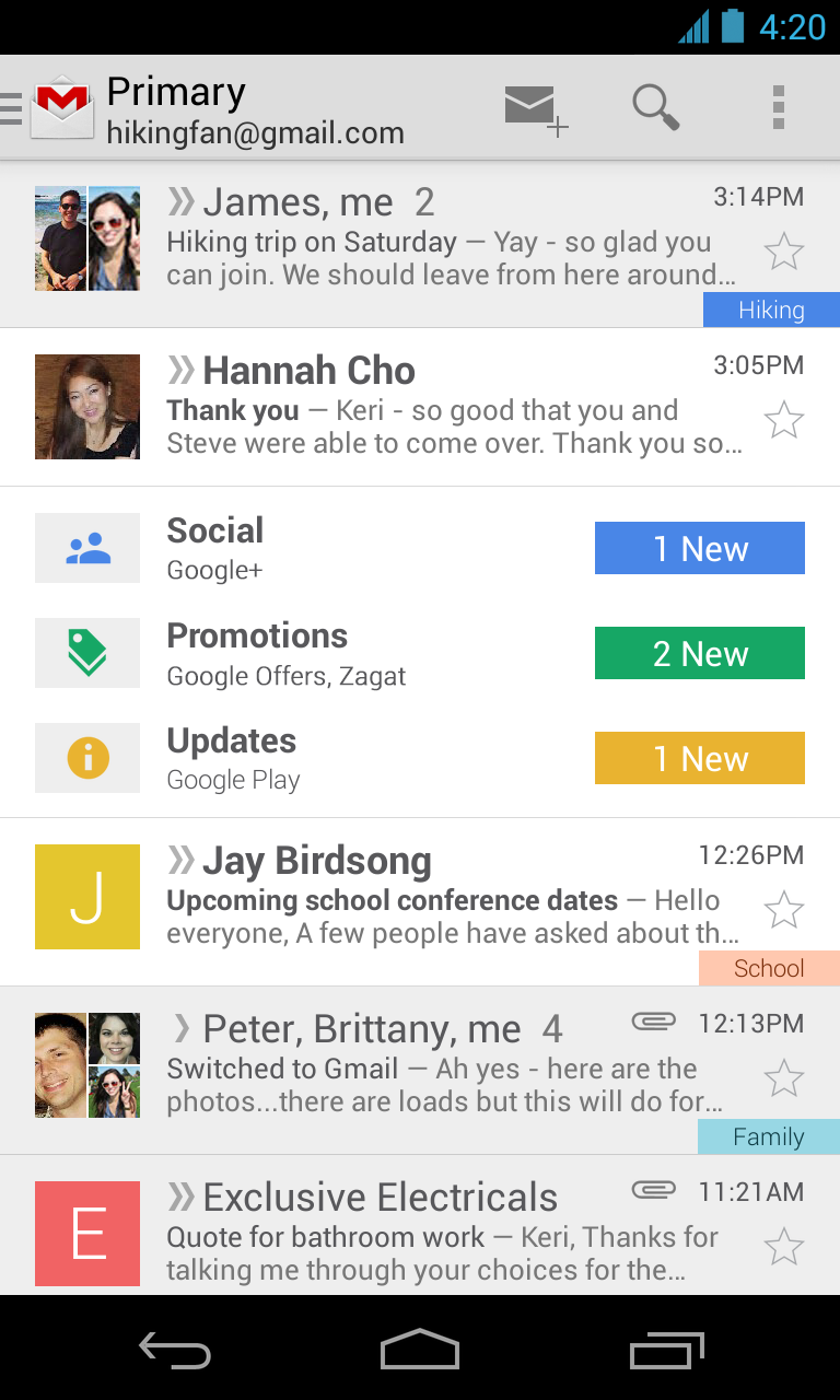 Google Releases Gmail App Update with New Features 1