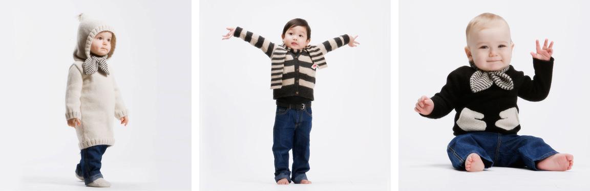 Black White Yellow Oeuf Baby Clothes