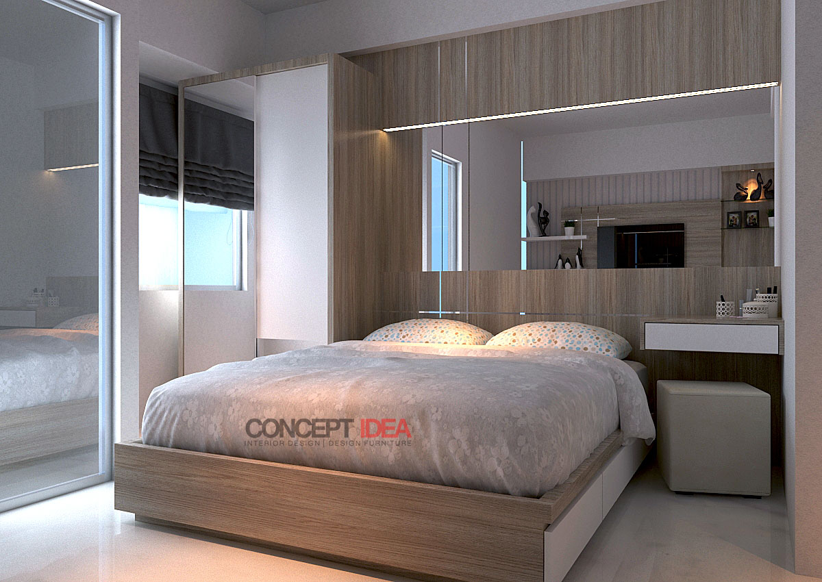 Concept idea apartemen gunawangsa merr tower b surabaya for Design interior surabaya
