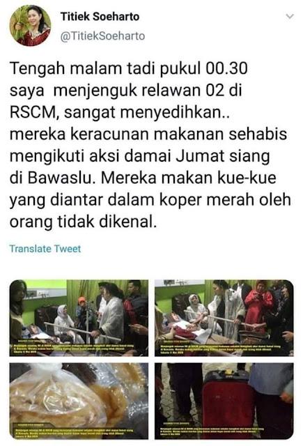 Misteri Pendukung 02 Keracunan Kue dalam Koper Merah di Bulan Ramadhan