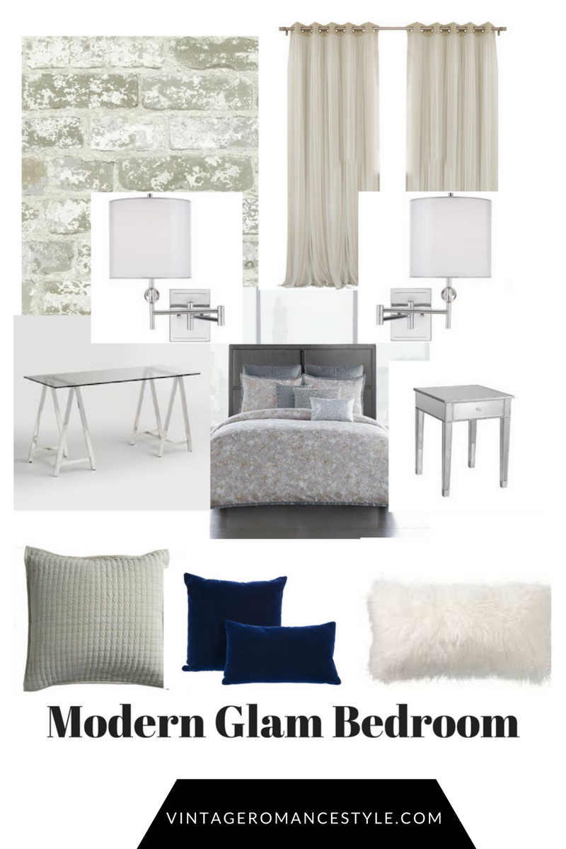 Modern Glam Bedroom // New Year, New Room Refresh | BLOOM+BURGEON