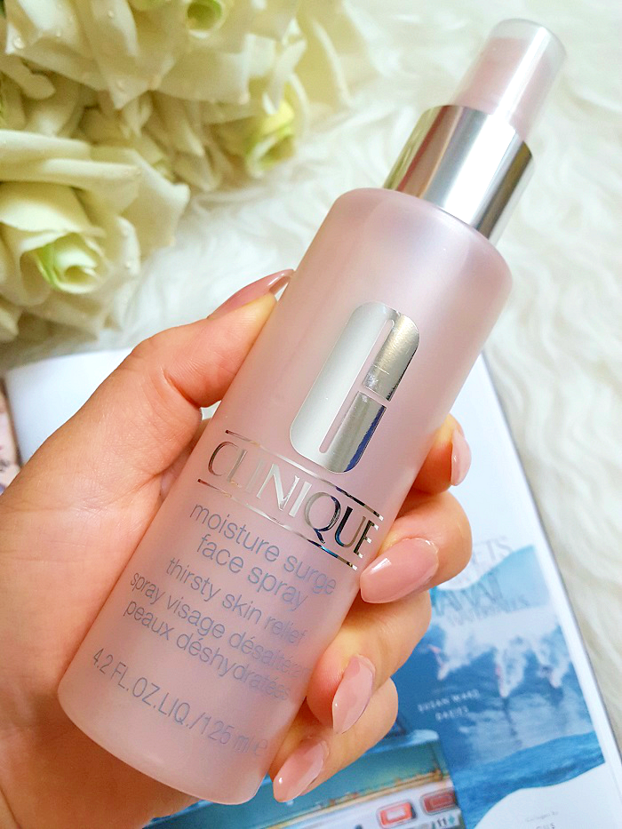 Review: Clinique Moisture Surge Face Spray - 125ml - 30.00 Euro