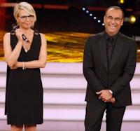 Logo Vinci Sanremo con TV Sorrisi e Canzoni