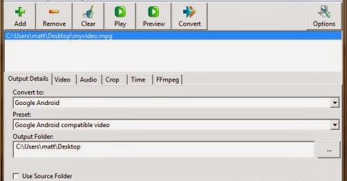 WinFF Alternative for Mac Review: Convert Video/Audio Files
