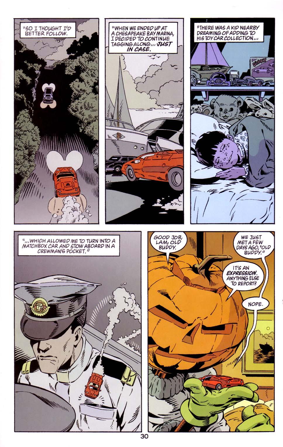 Read online Merv Pumpkinhead, Agent of D.R.E.A.M. comic -  Issue # Full - 31