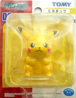 Pikachu Tomy Data Carrier Pokemon Figure