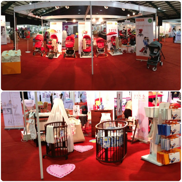Stokke at the Dublin Baby Show